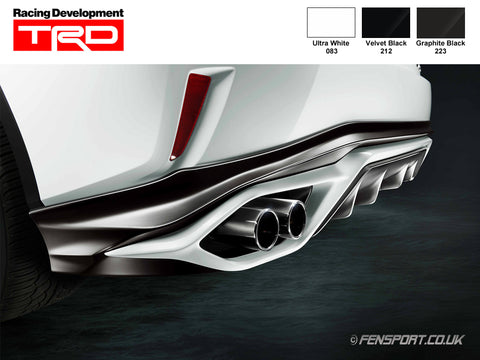 TRD - Rear Diffuser - Various Colours - RX200t & RX450h F Sport