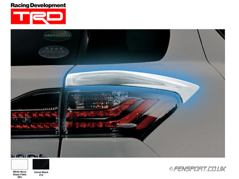 TRD - Quarter Panel Spoiler - White 083 - Lexus CT200h