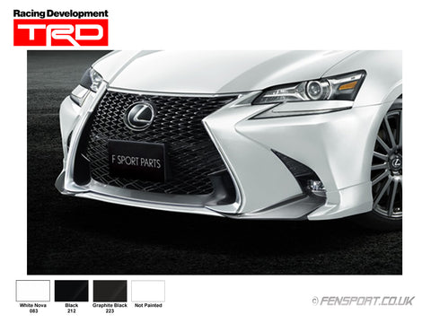 TRD Front Spoiler - Graphite Black 223 - GS300h & GS450h