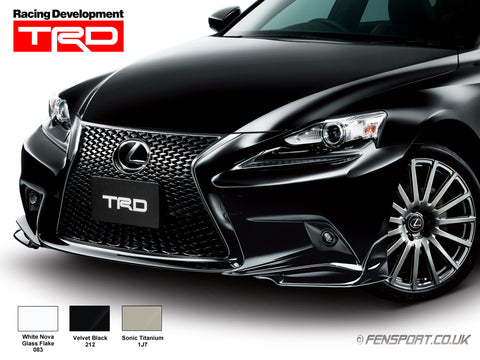 TRD - Front Spoiler - Various Colours - IS200t - IS250 GSE30, IS300h