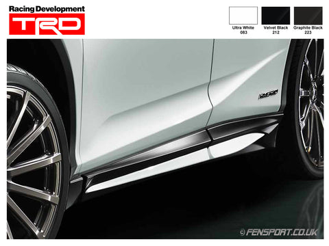 TRD - Side Skirts - Various Colours - RX200t & RX450h F Sport