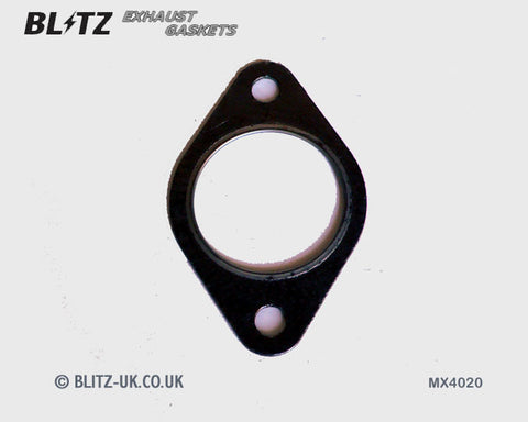 Blitz Exhaust Gasket - MX4020 - 53mm Bore - 10.5mm x 87mm centres