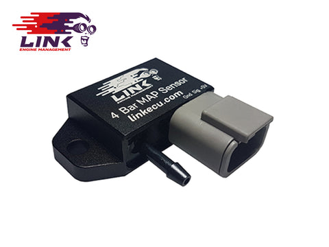 Link 4 Bar Map Sensor With Plug