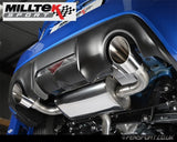 Milltek Performance Exhaust System - Primary Cat Back - Non Resonated - GT86 & BRZ