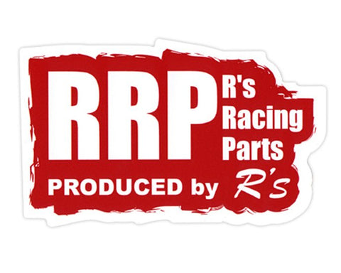 RRP Sticker Red Design