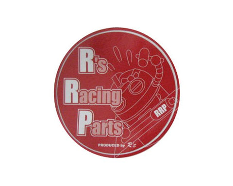RRP Sticker Round Red Robot