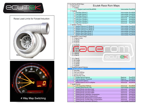 EcuTek RaceROM - BRZ Upgrade for ProECU - GT86 & BRZ