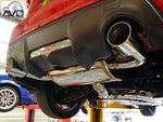 "Turbo Exhaust System - Turbo Back - With Cat - Avo 3"" - GT86 & BRZ"