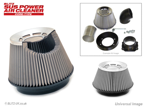 Blitz SUS Induction Kit - 26055 - Aristo 3.0 Twin Turbo Vertex, JZS161
