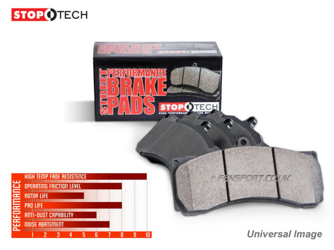 Brake Pads - Front - Stoptech - IS250, IS200D, IS220D, IS300h