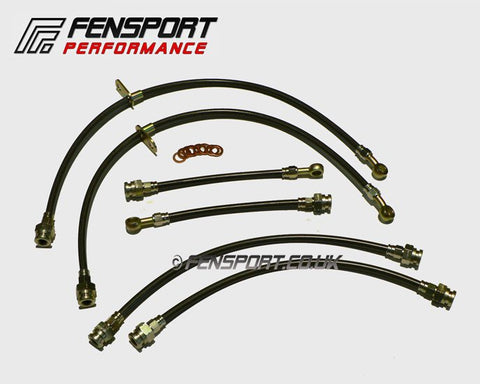 Stainless Steel Braided Brake Hose Kit - Swift Sport ZC31S