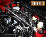 Summit Front Strut Brace - 3 Point Upper  - Graphite - GT86 & BRZ