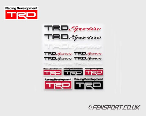 TRD Mini Sticker Set