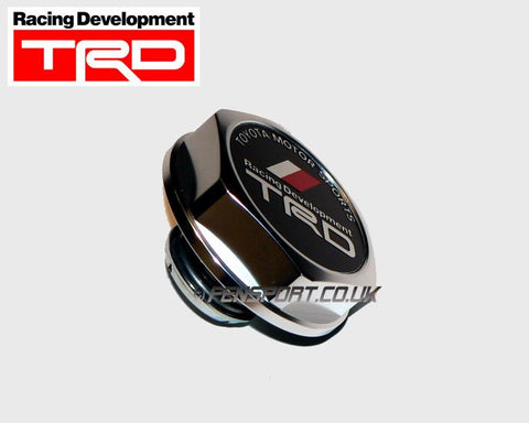 TRD Silver Billet Alloy Fillar Cap - Screw Type