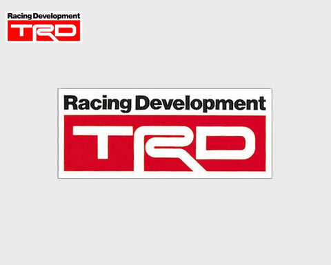 TRD Sticker B3 Type 80x190mm