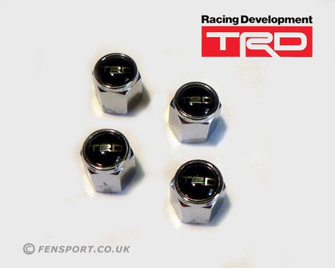 TRD Valve Cap Kit - Black