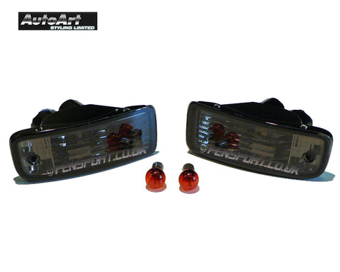 Indicators - Crystal Smoked - Pair - Celica GT4 ST205