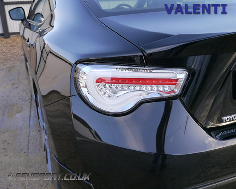 Valenti - LED Tail Lights - Clear - GT86 & BRZ