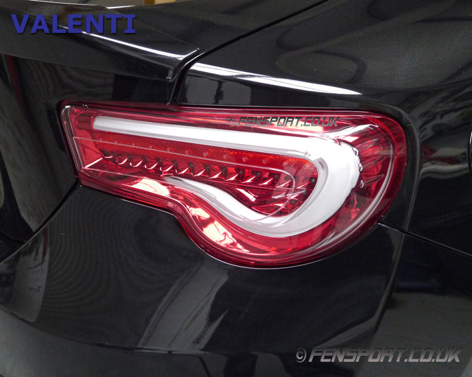 Valenti Led Tail Lights V2 Sequential Clear Red