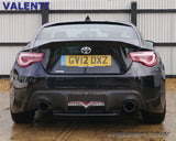 Valenti LED Bumper Lamp - Clear Red - GT86 & BRZ