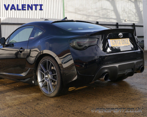 Valenti Led Tail Lights V2 Sequential Smoke Gt86