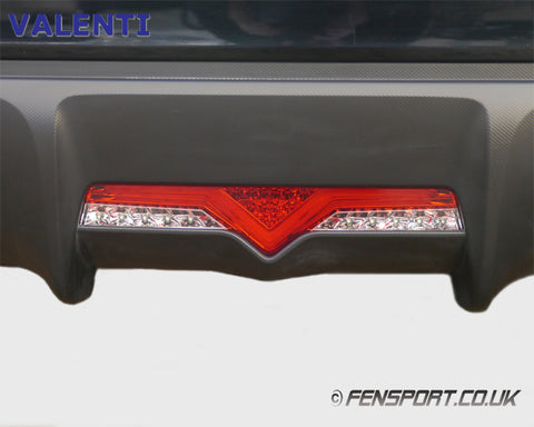 Valenti LED Bumper Light - Red Clear - GT86 & BRZ