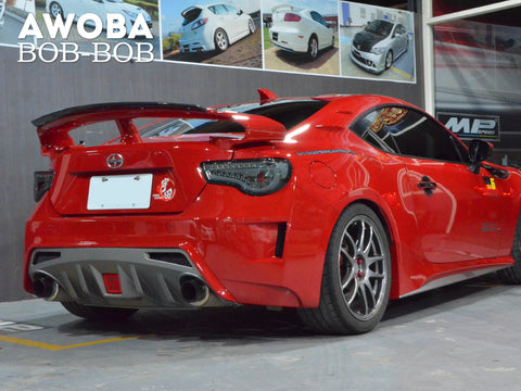 Awoba-Bob-Bob Rear Bumper + LED Light - GT86 & BRZ