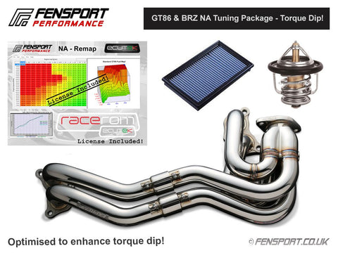 Fensport - NA Tuning Package - Unequal Length Manifold - Torque Dip - GT86 & BRZ