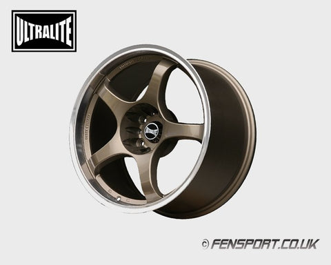 Ultralite Bronze 5 Spoke Wheel