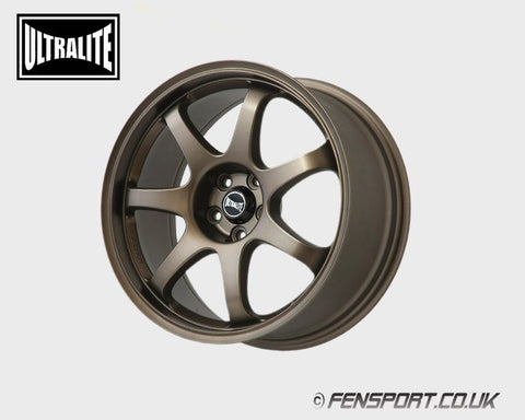 Ultralite Bronze 7 Spoke Wheel