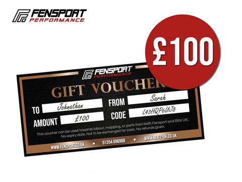 Fensport & Blitz Gift Voucher - £100