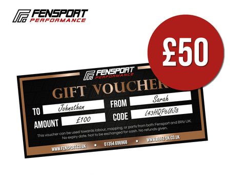 Fensport & Blitz Gift Voucher - £50