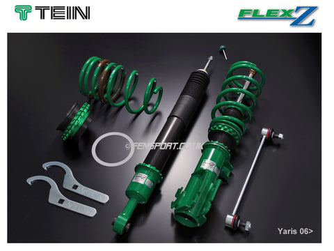 Coilover Kit - Tein Flex Z - Yaris 1.3 & 1.8 Sport 06>