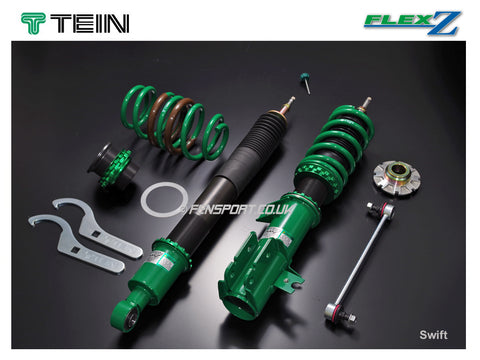 Coilover Kit - Tein Flex Z - Swift Sport ZC11, ZC21 & ZC31s