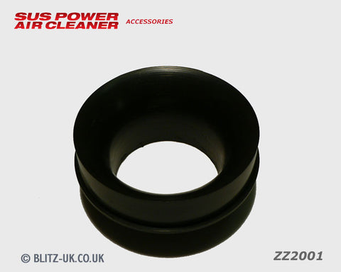 Blitz Air Filter Adaptor - 80mm Plastic - C3 Core - ZZ2001