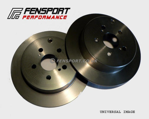 Brake Discs - Rear - 263mm - MR-S ZZW30