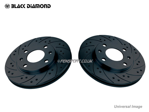 Brake Discs - Front - Combination - Celica 140 ZZT230 >8/02 UK & All JDM