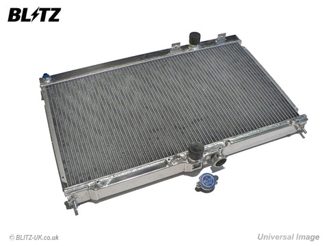 Blitz Alloy Radiator - Type ZS - 18855 - Evo 7 & 8