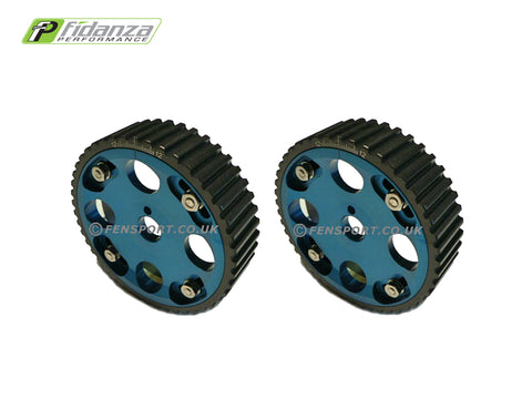 Cam Pulleys - Fidanza Adjustable - Blue - Celica & MR2 3SG#