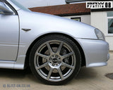 Blitz BRW 08 Alloy Wheel Set - 17x7 - 4x100 - ET35 - Metal Silver