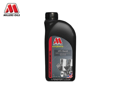 Millers - Fully Synthetic Engine Oil - CFS 10w40 - 1 Litre