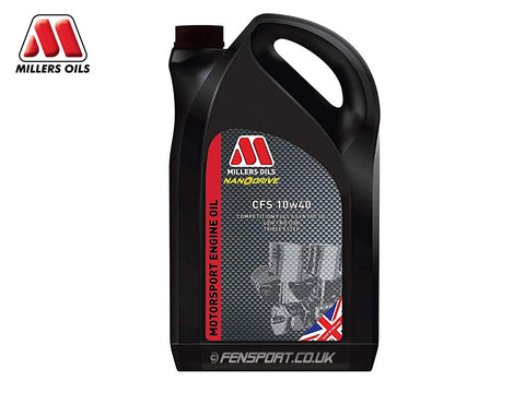 Millers - Fully Synthetic Engine Oil - CFS 10w40 - 5 Litre