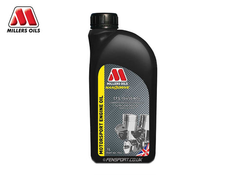 Millers - NanoDrive Fully Synthetic Engine Oil With Nano Tech - CFS 10w50 NT+ - 1 Litre