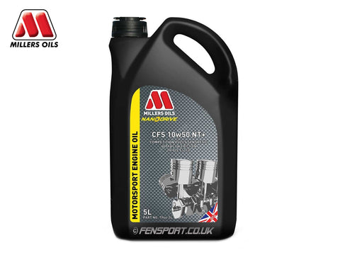 Millers - NanoDrive Fully Synthetic Engine Oil With Nano Tech - CFS 10w50 NT+ - 5 Litre