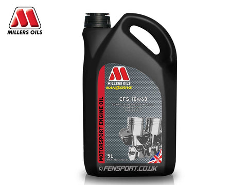 Millers - Fully Synthetic Engine Oil - CFS 10w60 - 5 Litre
