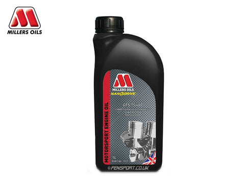 Millers - Fully Synthetic Engine Oil - CFS 15w60 - 1 Litre