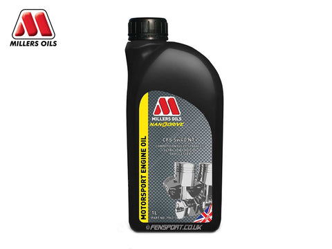 Millers - NanoDrive Fully Synthetic Engine Oil With Nano Tech - CFS 5w40 NT+ - 1 Litre
