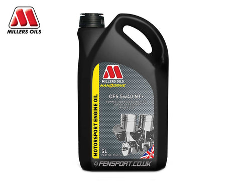 Millers - NanoDrive Fully Synthetic Engine Oil With Nano Tech - CFS 5w40 NT+ - 5 Litre