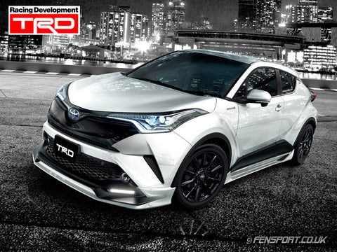 TRD Front Spoiler - Ag Style - With LED - Various Colours - Toyota C-HR