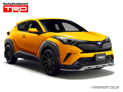TRD Front Bumper Garnish - Black - Toyota C-HR
